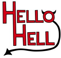 Hello Hell Logo by TheRealTDAGeena