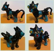 Luxray Sculpture by sorjei