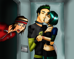 Kiss in the Confessional by CGOmega