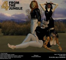4 From The Jungle by Desgar