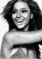 Beyonce Knowles 2 by earlierbirdscenic