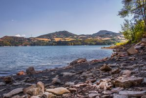 suviana lake by FraterOrion