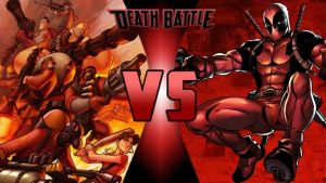RED Team vs Deadpool by FEVG620