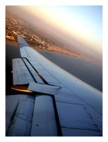 Flying Over Los Angeles by explosive