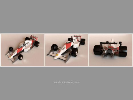 3D F1 Toy 3 by subaqua