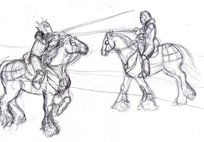 joustsketch round 2 by brbarkham