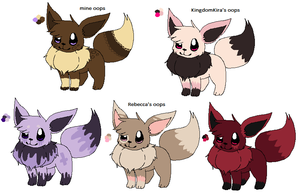 who wants a free eevee by SlCKS