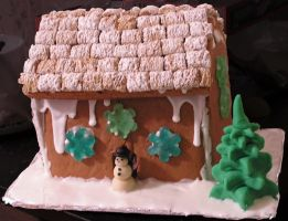Gingerbread house 2008 by celacia