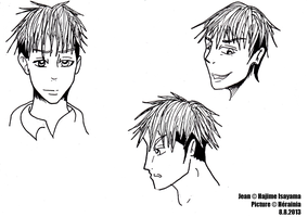 Jean Sketches by Herainia