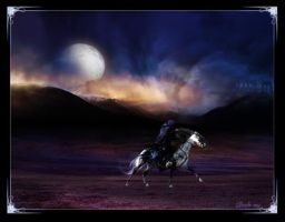 Dark Moonlit Ride by Deirdre-T