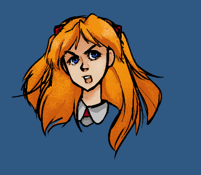 Quick Asuka by ThatOneGeek