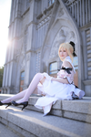 Fate Unlimited Code : Saber Lily by Rzcos