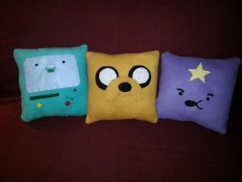 Adventure Time Pillows! by ChallengeSakana
