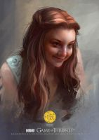 GAME OF THRONES :  Margaery Tyrell by Scottshi