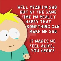 South Park: Butters Quote by MrScaryJoe