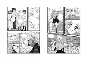 Sailor Moon fanbook preview by 0Febris0