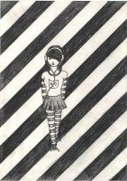 Black and White by Mondays--Child