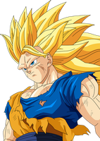 goku ssj3 by maffo1989