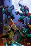 TMNT! by CarlosMorenoD-Art