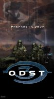 Halo 3: ODST Poster by DANYVADERDAY
