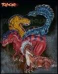 Primal Rage Poster by DrakainaQueen