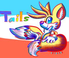 Miles (Tails) Prower by 5Birds1999