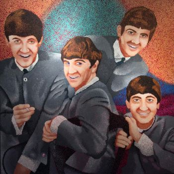 The Beatles Study by Miizzey