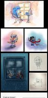 Tumblr Art Dump - March 2013 by The-Starhorse