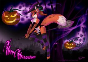 Happy Halloween01 2013 by RukiFox