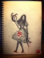 Alice on the Run by Thilany