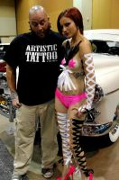 Me and my muse at the 2012 Timeless Ink Tour 2012 by mofocrow