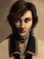 Bioshock infinite Elizabeth (finished) by foofighters111