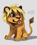 Chibi feral Matt by MMcAllister88