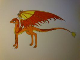 sun dragon 1.0 by cynderplayer