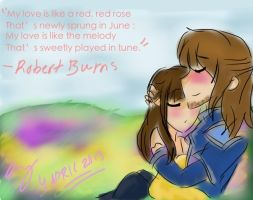 My love is like a red red rose... by nana-chin