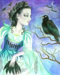 Queen of the Ravens by Justine-Ehlers
