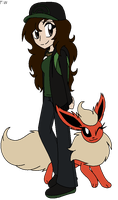 Me as a Pokemon Trainer 2013 by Faith-Wolff