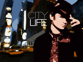 City Life by Skull--Kid