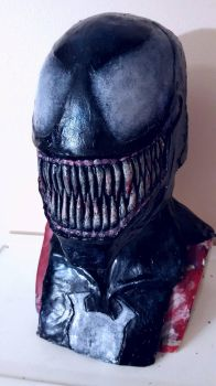 New classic venom mask by symbiote-x