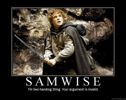 Samwise Gamgee by bthauronite