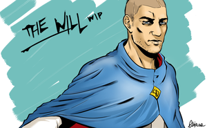 The Will WIP by IpernovaOfMine