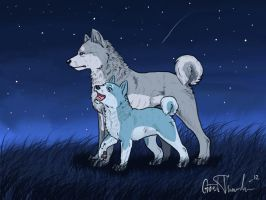 finally together by BlueSilverWolf