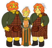 The Kingdom of Gourd Royal Family by MissPomp