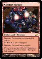 Planetary Fortress by starcraftmtg