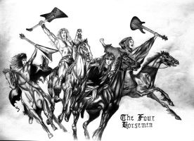 Metallica - The Four Horsemen by DrinkTillYouDrop