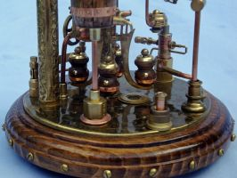 Steampunk Clock 2(4) by dkart71
