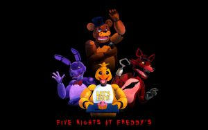 FNAF Wall Paper by AokiBengal