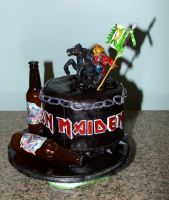 Iron Maiden Cake by reenaj
