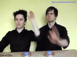 Barry And Stuart - GIF by GifsandStock