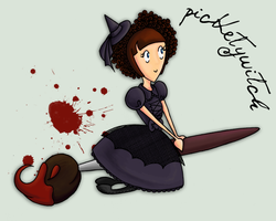 Pickety Witch by Violet--Gypsy